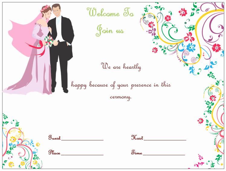 Wedding Invitation Template S Simple and Elegant