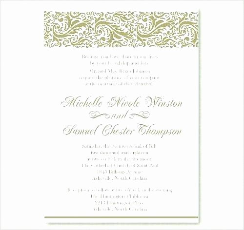 Wedding Invitation Templates Catholic Wording and the