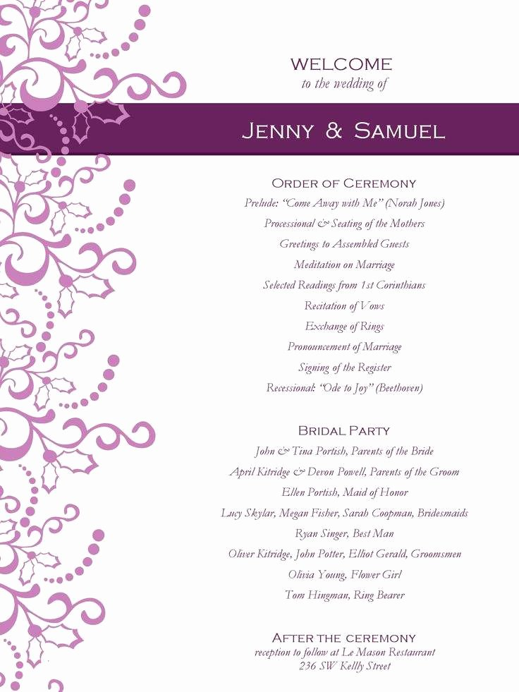 Wedding Invitation Templates Word