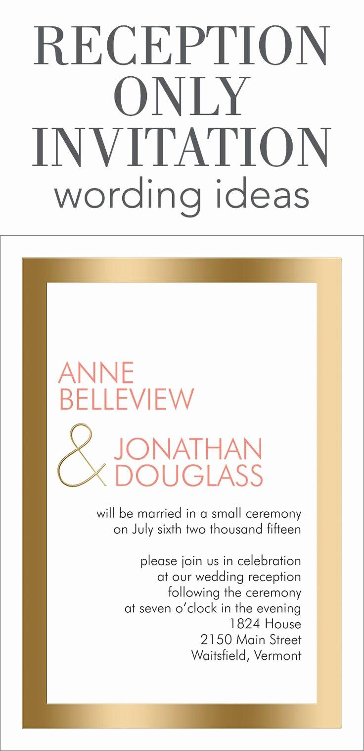 Wedding Invitation Wording Ideas Wedding Invitation