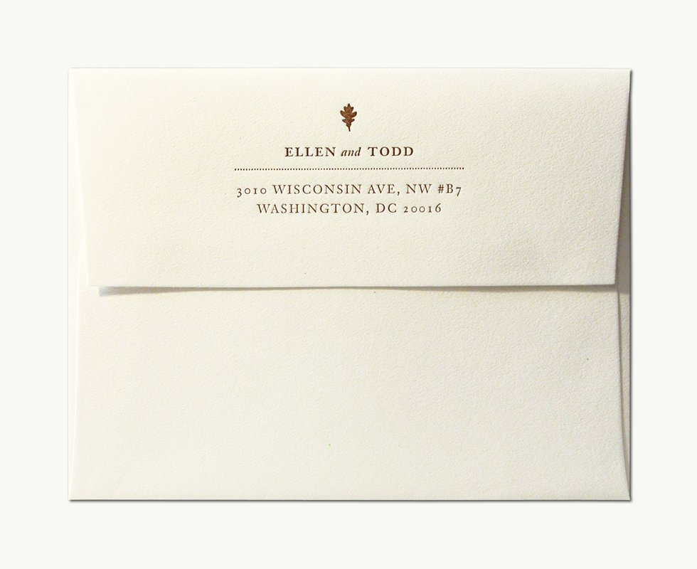 Wedding Invitations Envelopes Template