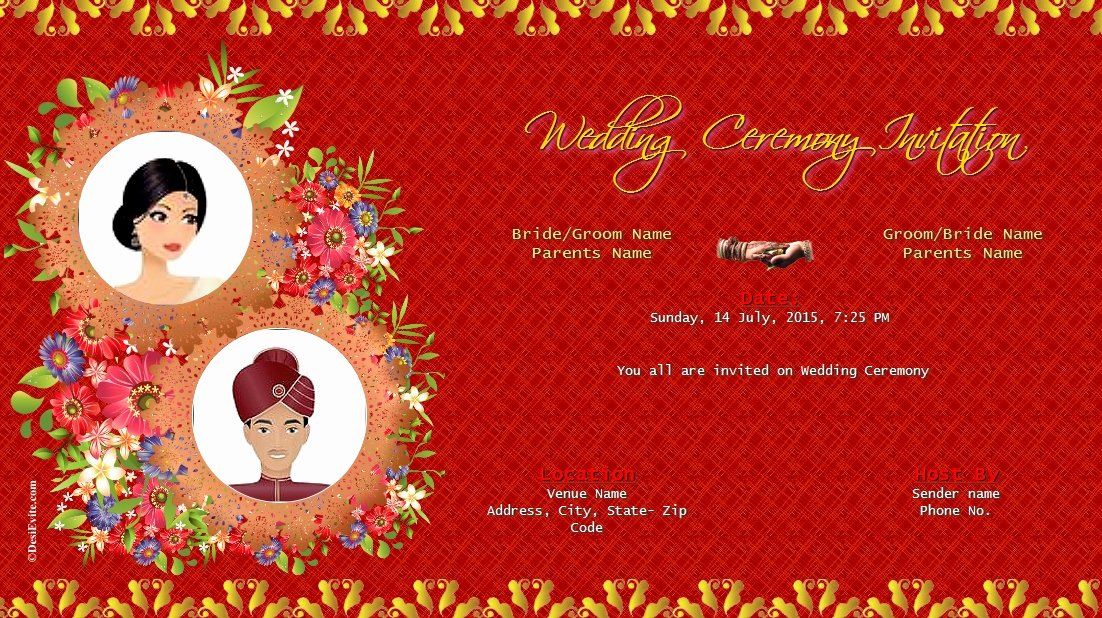 Wedding Invitations Indian Wedding Invitations Ideas
