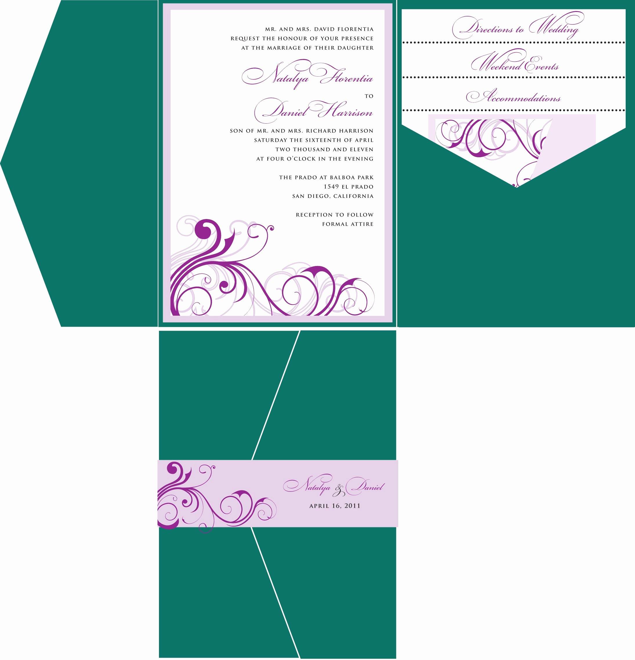 Wedding Invitations Template Wedding Invitations