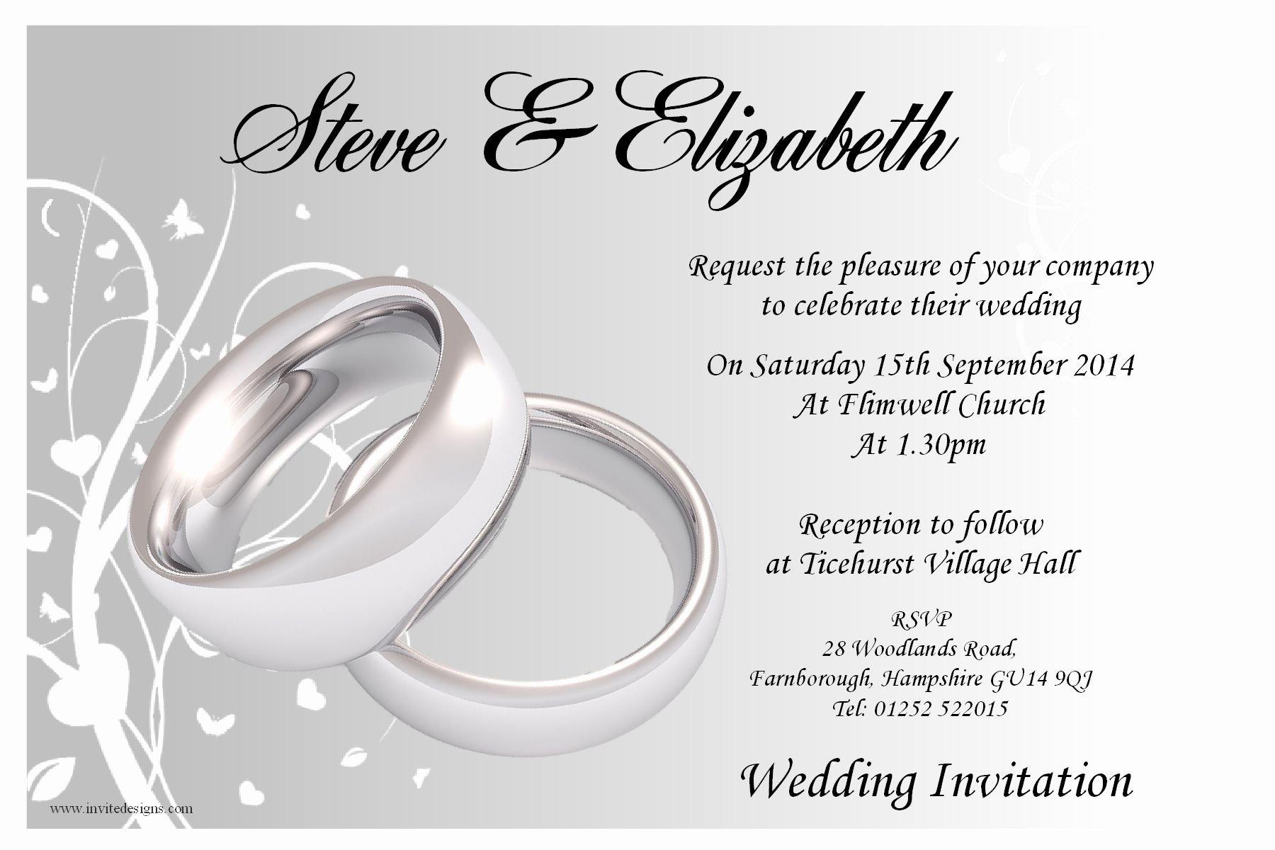 Wedding Invitations Templates for Wedding Invitations
