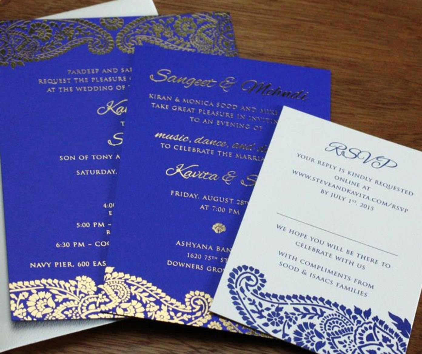 Wedding Invite Templates Indian Wedding Invitation Blank