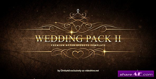 Wedding Pack Ii after Effects Project Videohive Free