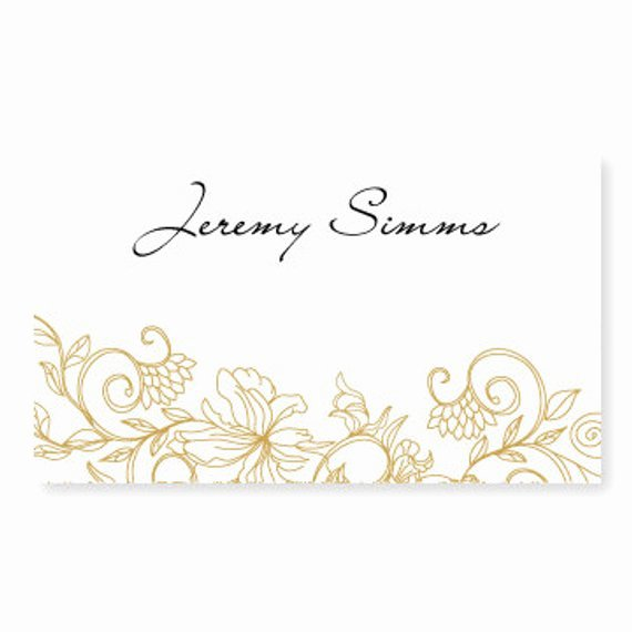 Wedding Place Card Template Instant by Diyweddingtemplates