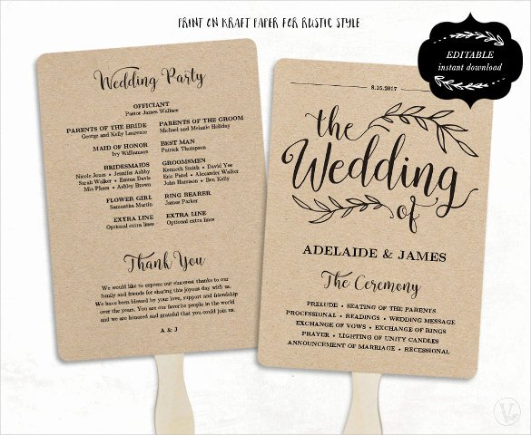 Wedding Program Template 41 Free Word Pdf Psd