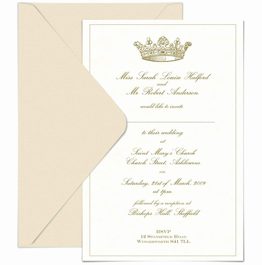 Wedding Reception Invitation Wording after Private
