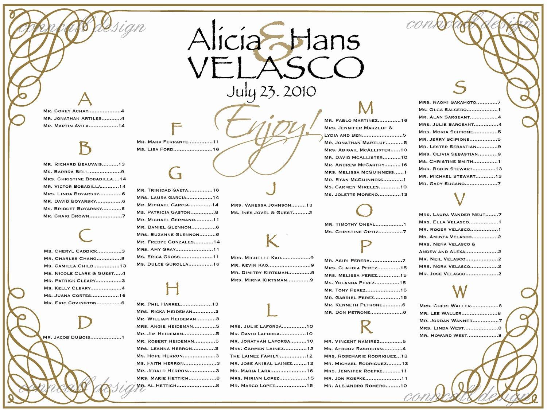 Wedding Seating Chart Poster Template Free Wedding