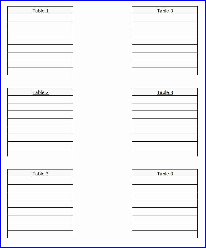 Wedding Seating Chart Template Ms Word Templates Ms