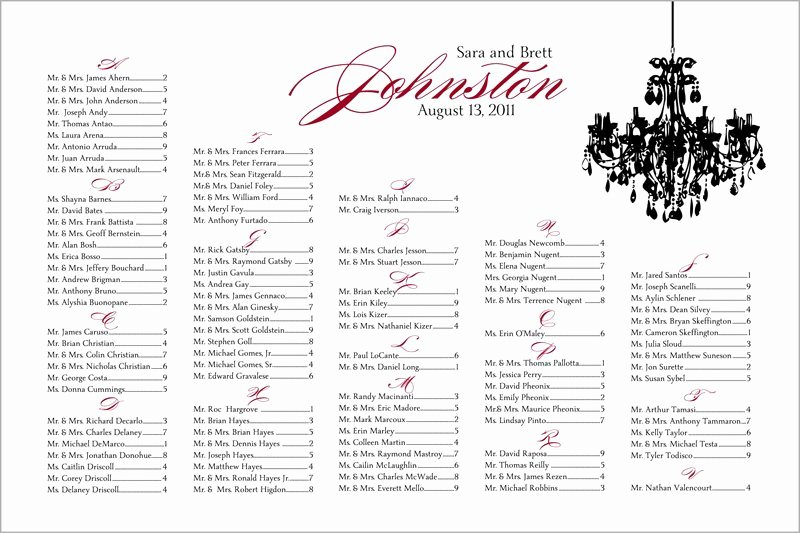Wedding Seating Chart why You Need E