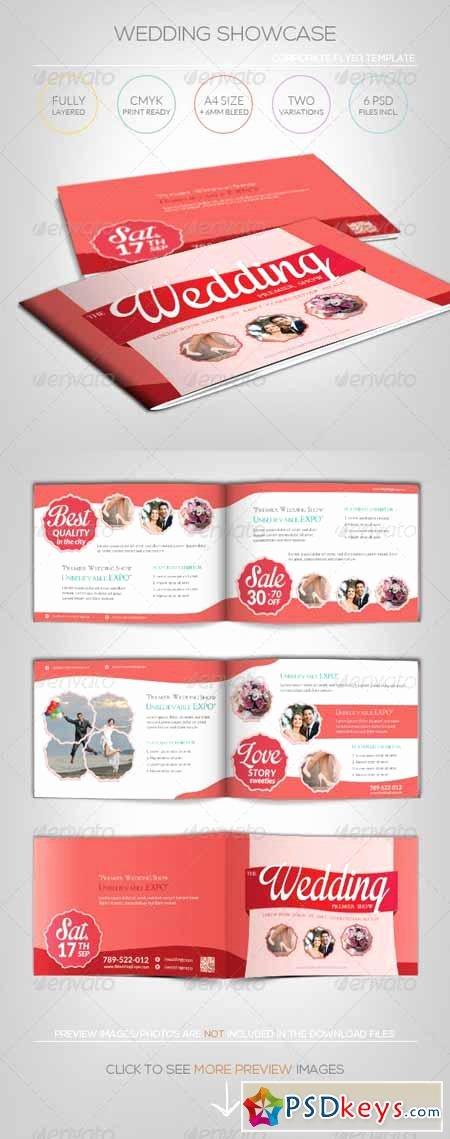 Wedding Showcase Brochure Template Free