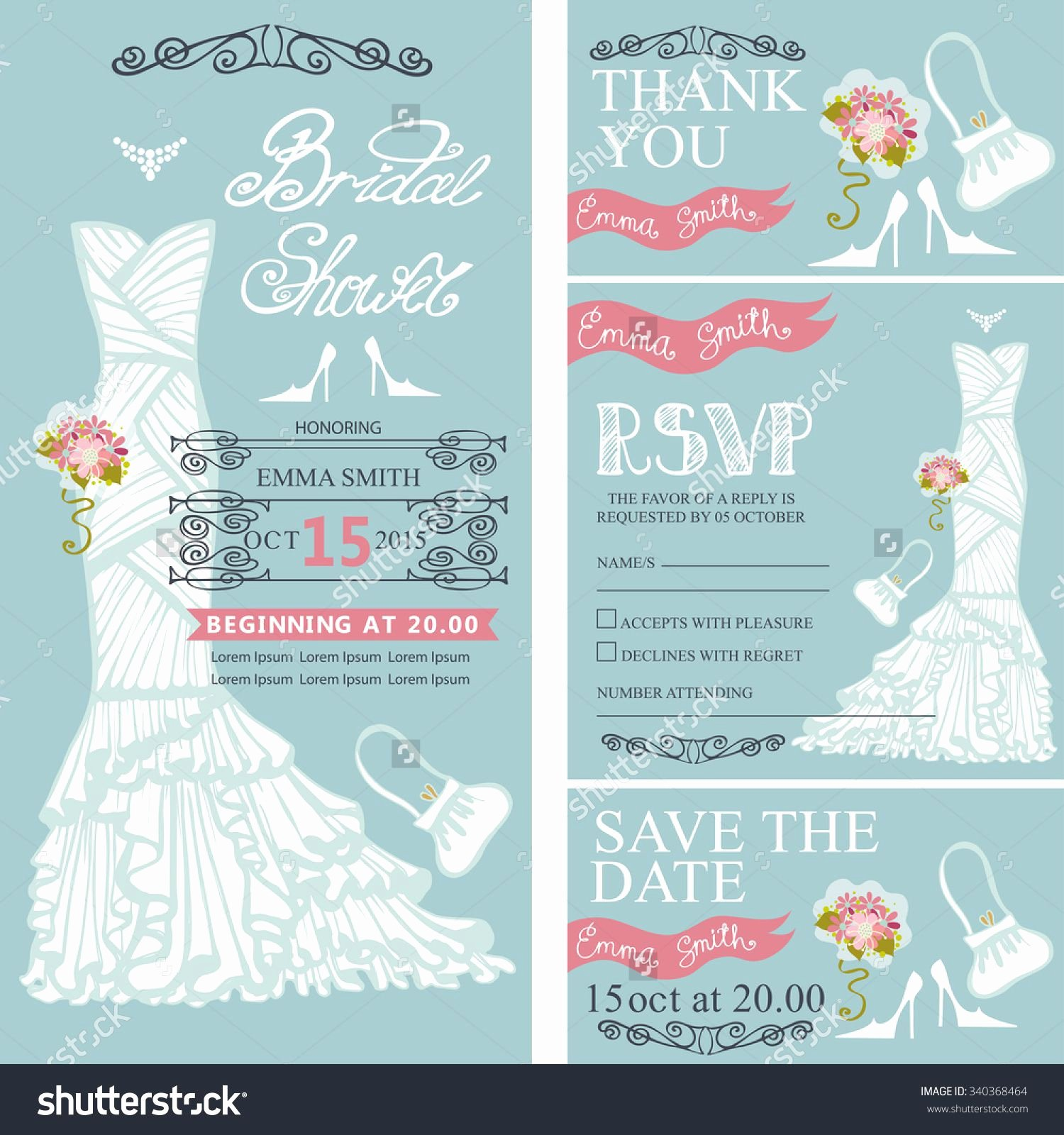 Wedding Shower Invitation Wedding Shower Invitations