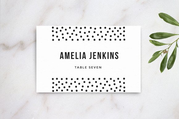 Wedding Table Name Card Template Card Templates On