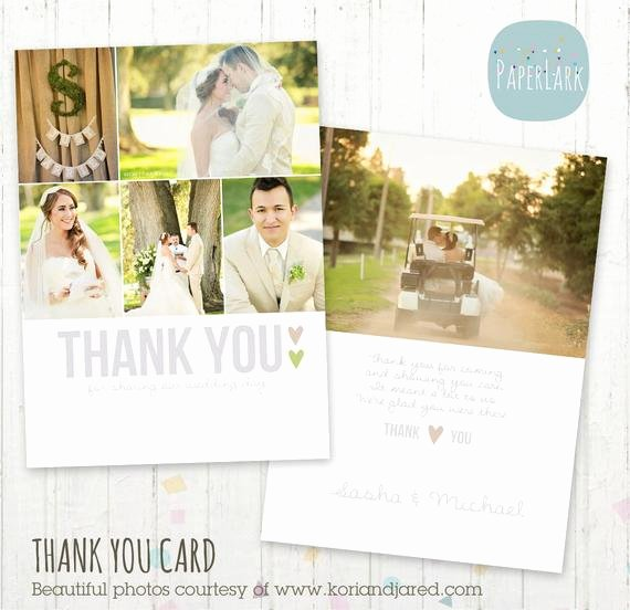 Wedding Thank You Card Shop Template by Paperlarkdesigns