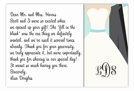 Wedding Thank You Cards Easy Writing Wedding Thank You