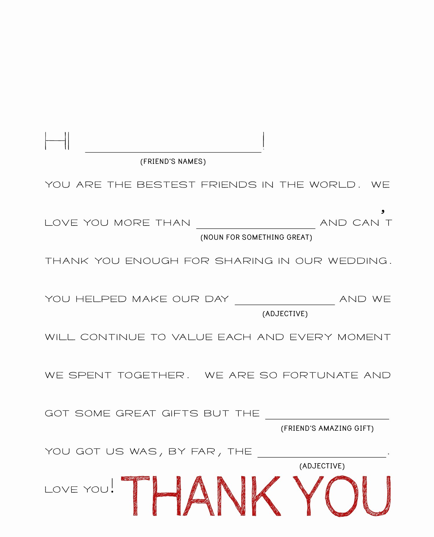 Wedding Thank You Cards Thank You Cards Wedding Wording