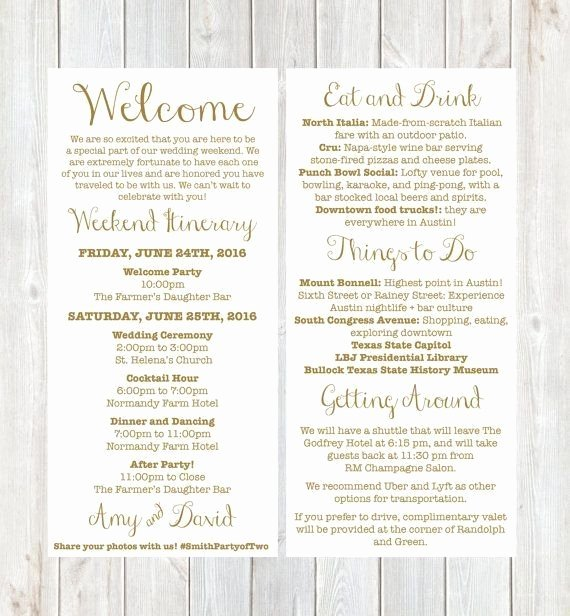 Wedding Wel E Letter Template Sample Professional