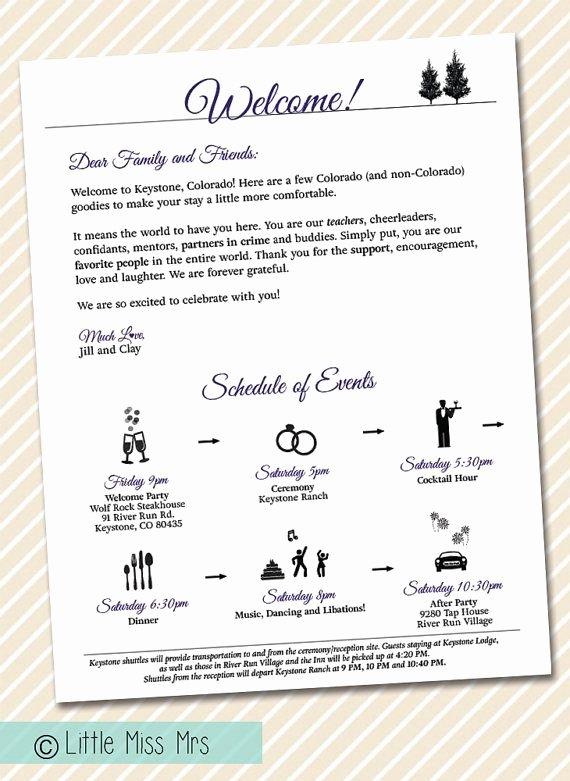 Wedding Wel E Letter Timeline Of events by Littlemissmrs