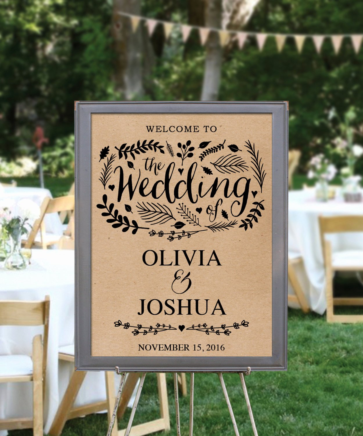 Wedding Wel E Sign Template Editable Pdf Wel E to Our