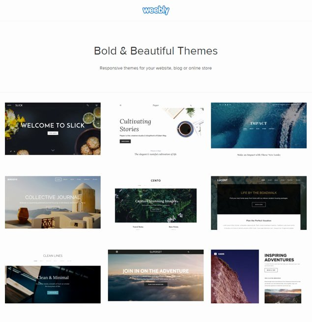 Weebly for Graphers Power Up with Premium Templates