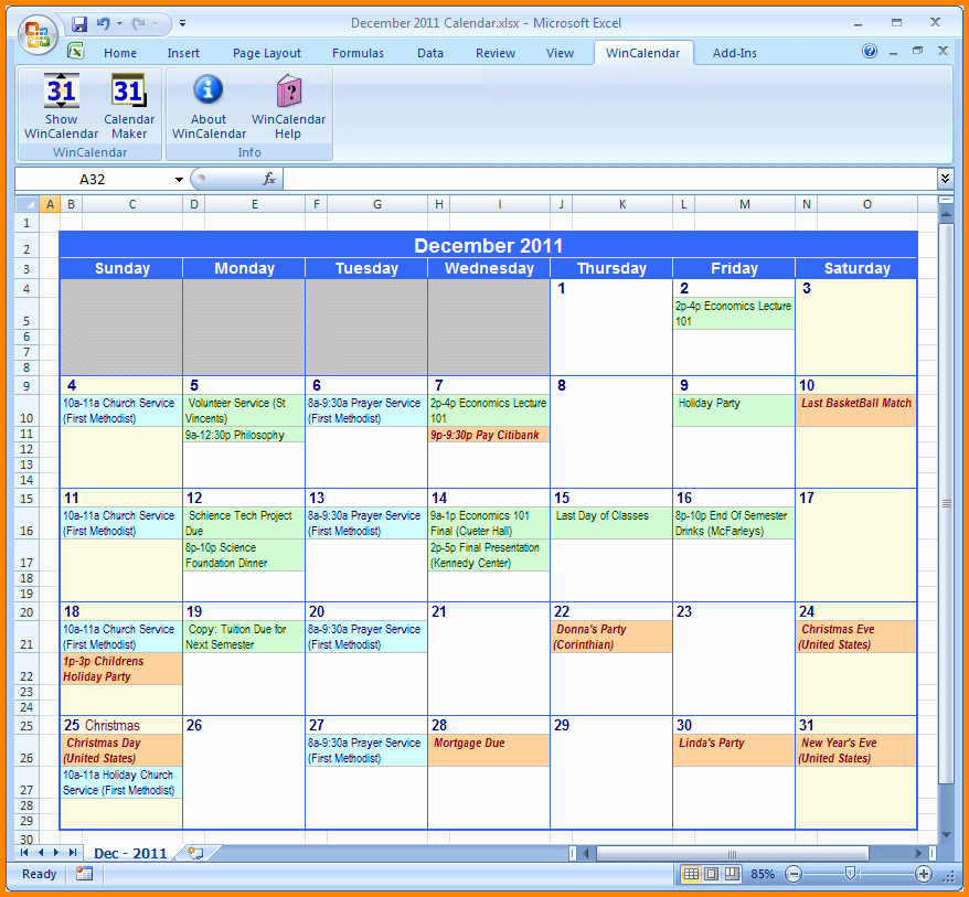 Weekly Calendar Excel Driverlayer Search Engine