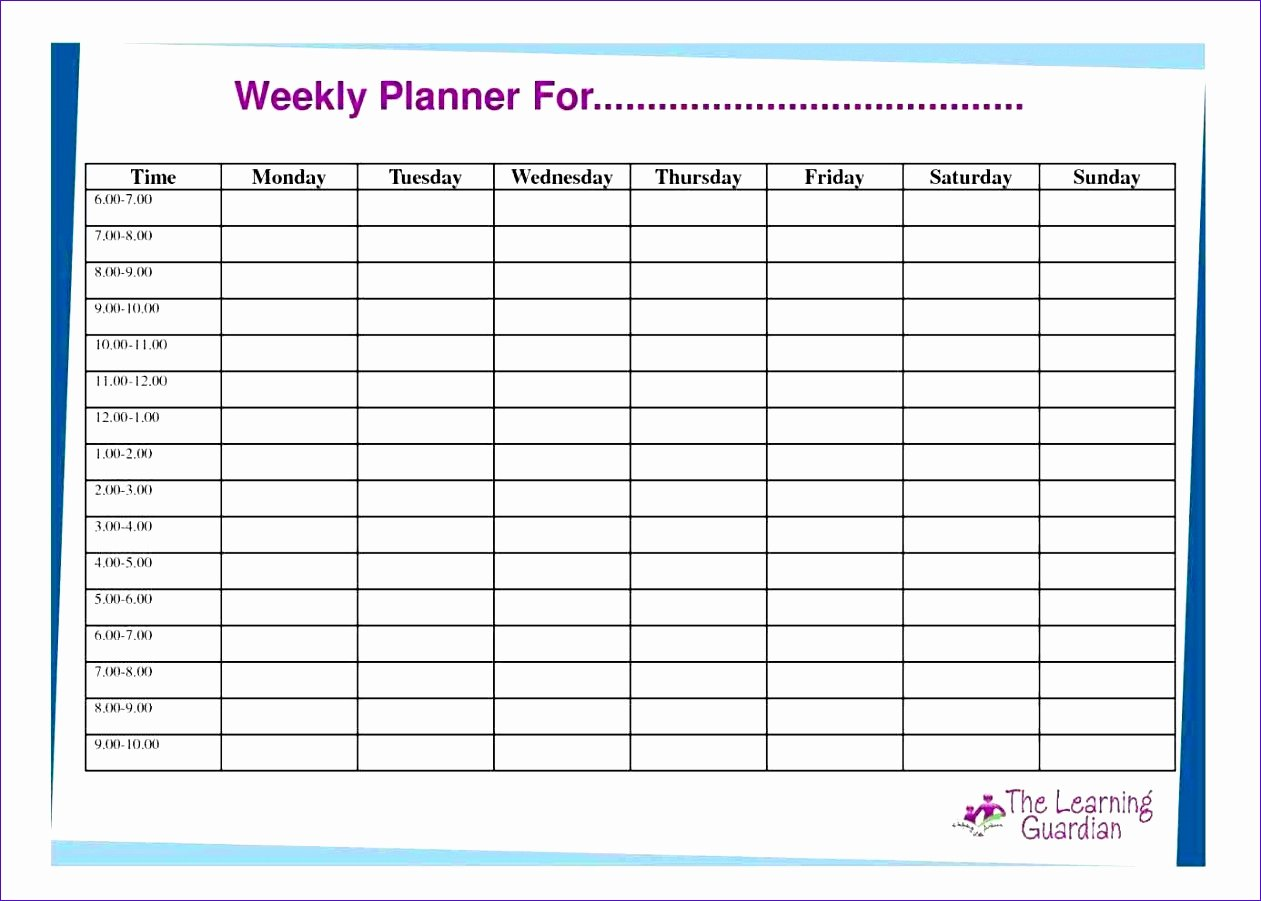 weekly hourly planner template excel weekly hourly planner template excel hourly schedule template 30 free word excel pdf format free pertaining to weekly hourly planner template excel