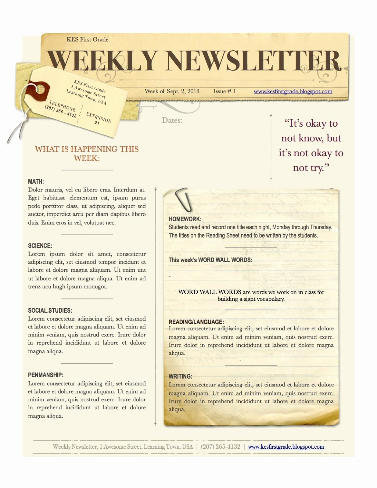 Weekly Newsletter 1 236×1 600 Pixels