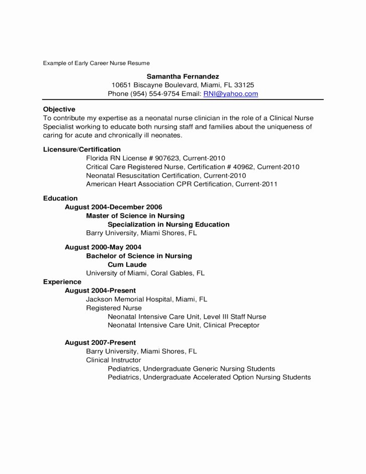 Well Cover Letter Nursing New Grad – Letter format Writing
