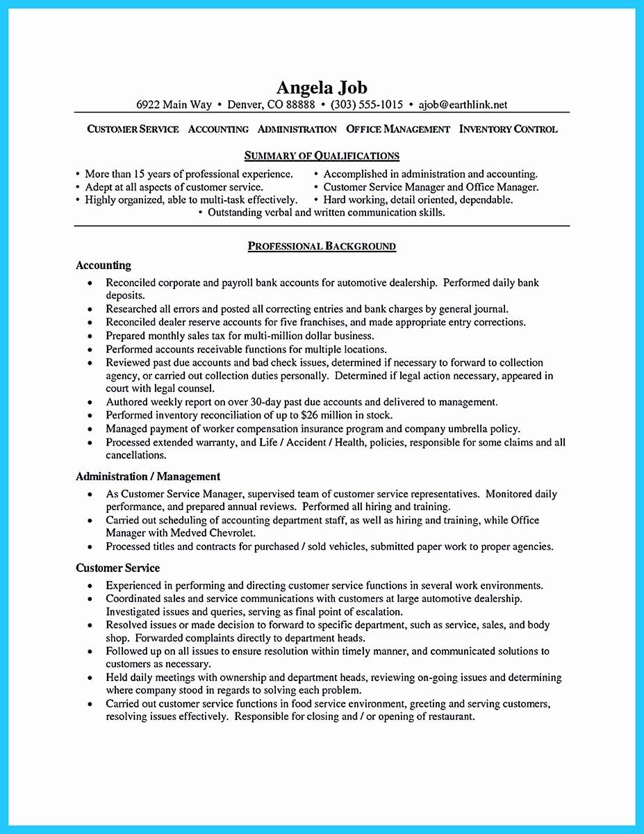 Well Written Csr Resume to Get Applied soon
