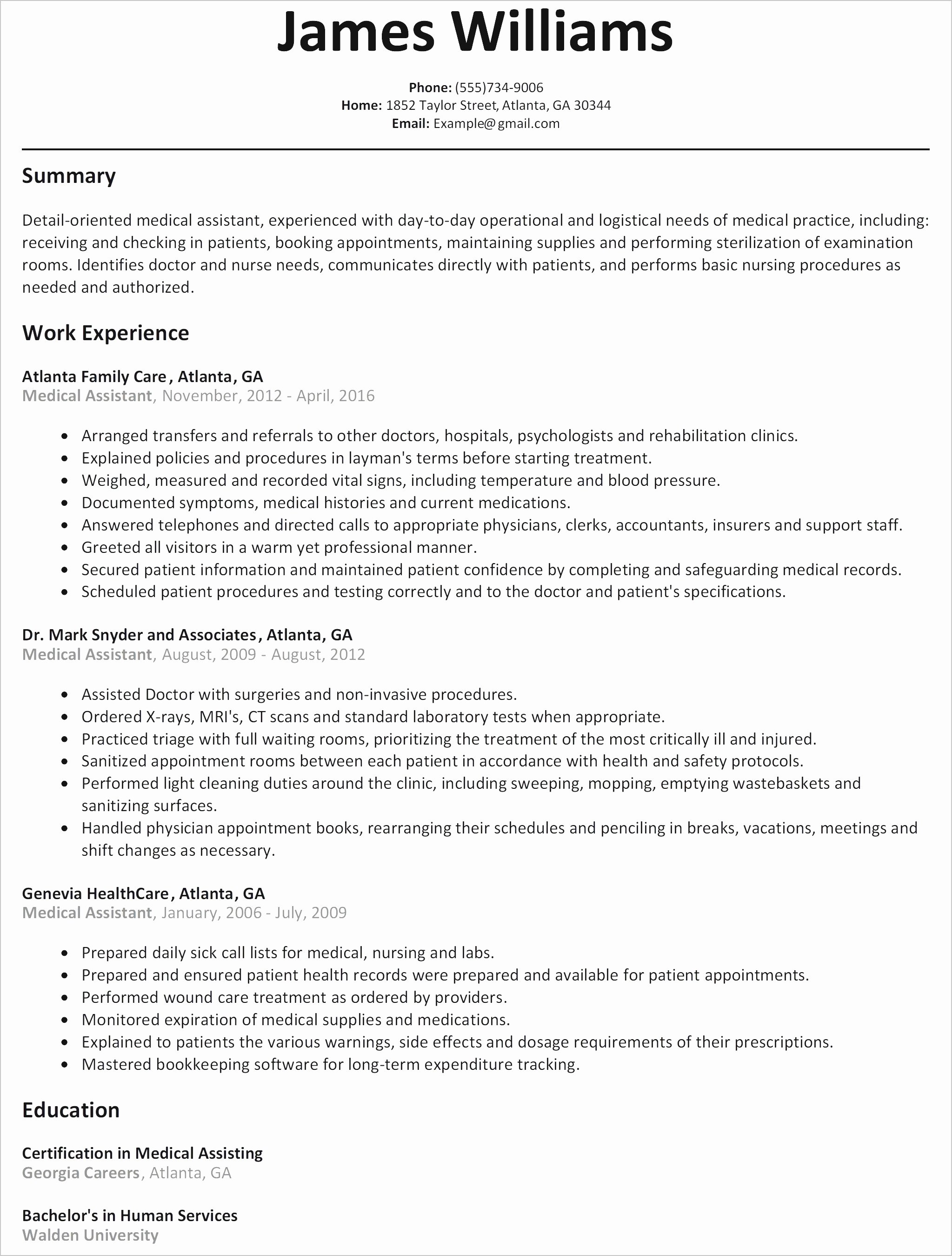 What is A Good Resume Fresh Good Resume Template Fresh