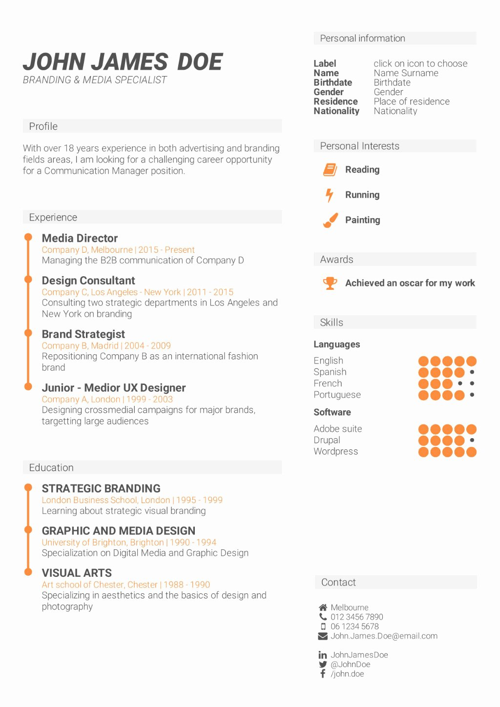 What is the Best Cv format How to Write A Cv
