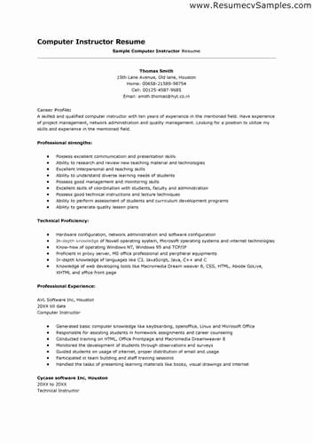 What is the Best Way to List My Puter Skills On A Resume
