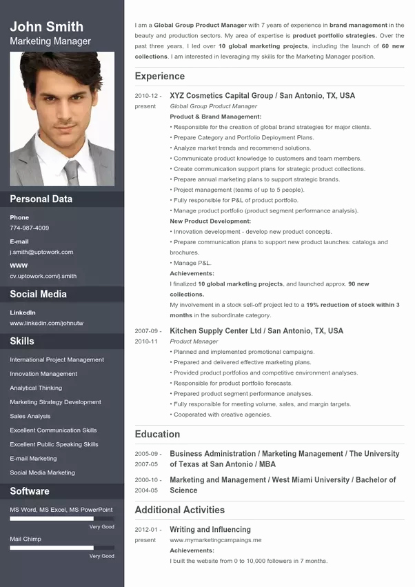 What is the Best Website to Make A Cv Quora