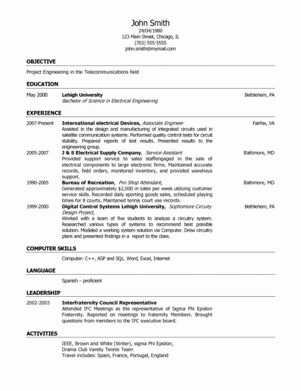 What to Put College Resume