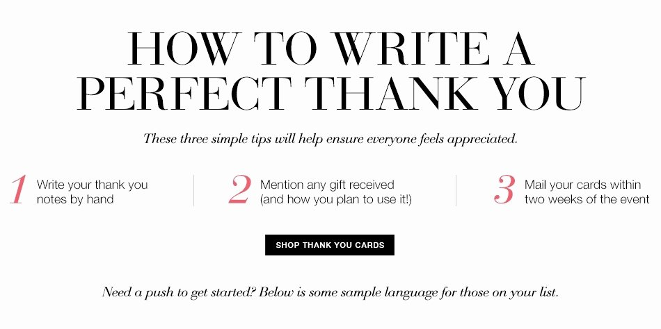 What to Write In A Thank You Cardwritings and Papers