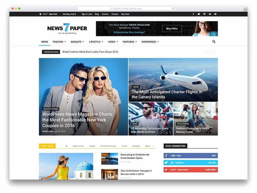 What Wordpress theme Design is Perfect for Your Website