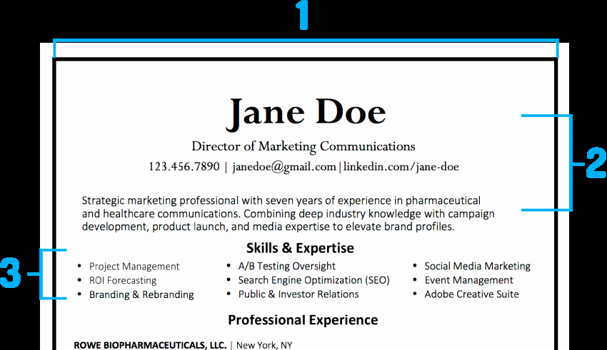 What Your Resume Should Look Like In 2018 – Imdiversity