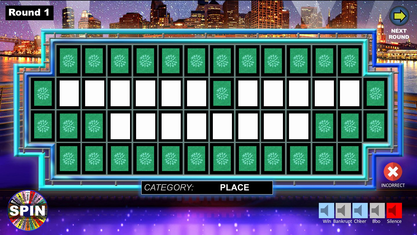 Wheel Of fortune Powerpoint Game Youth Downloadsyouth