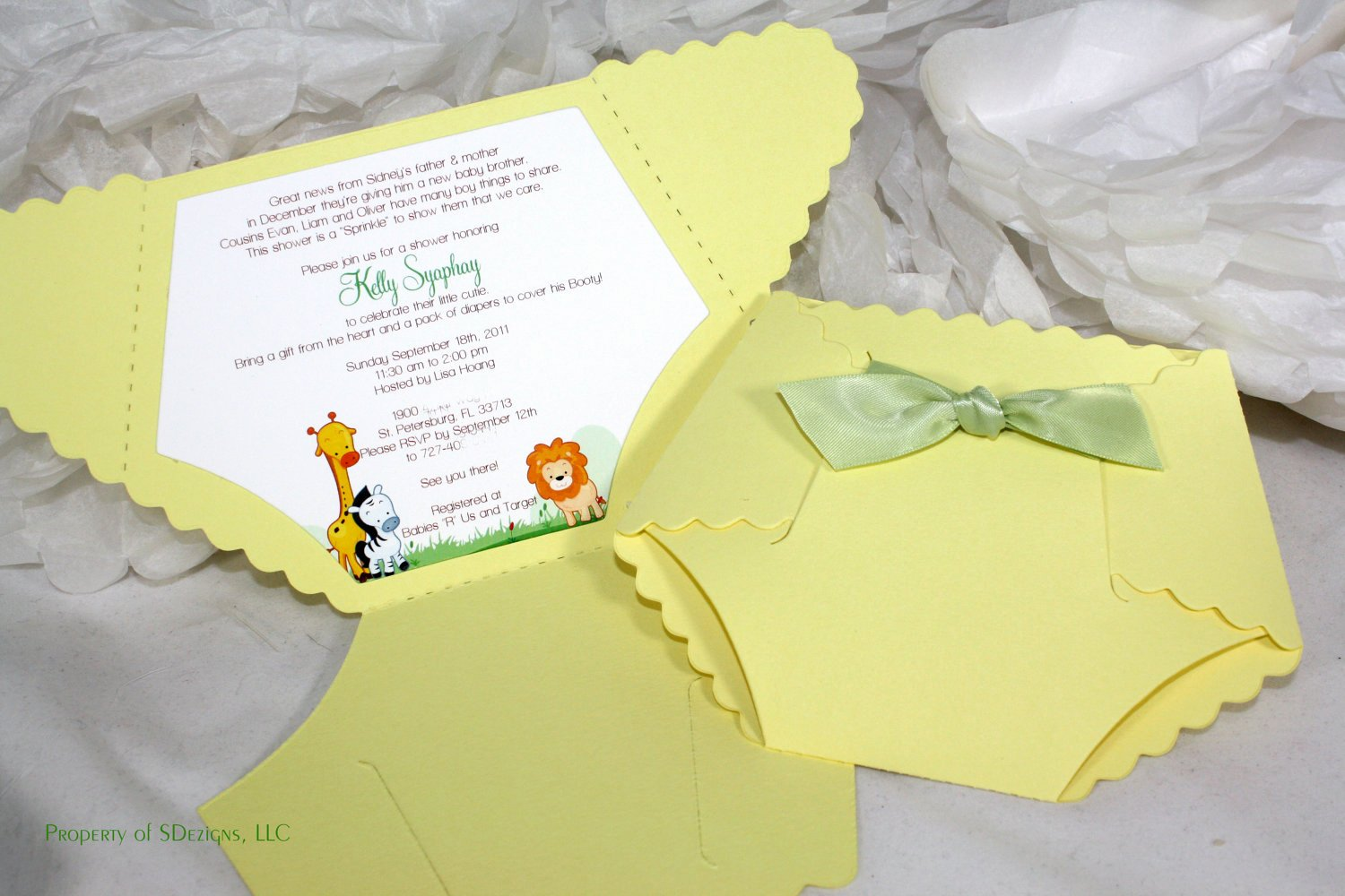Where to Buy Baby Shower Invitation