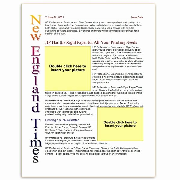 Where to Find Free Church Newsletters Templates for