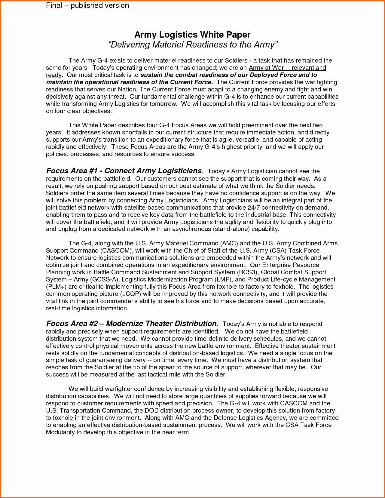 White Paper format Template Portablegasgrillweber