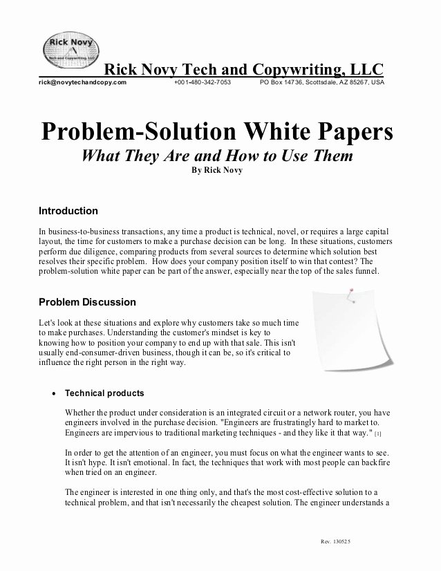 white paper on ps white papers