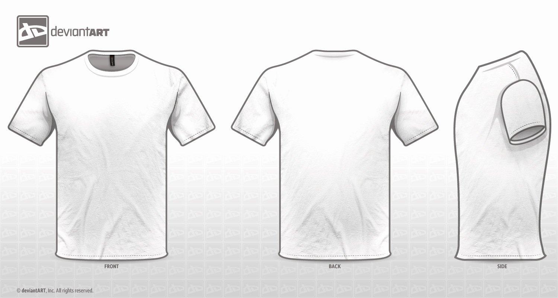 White T Shirt Template Beepmunk