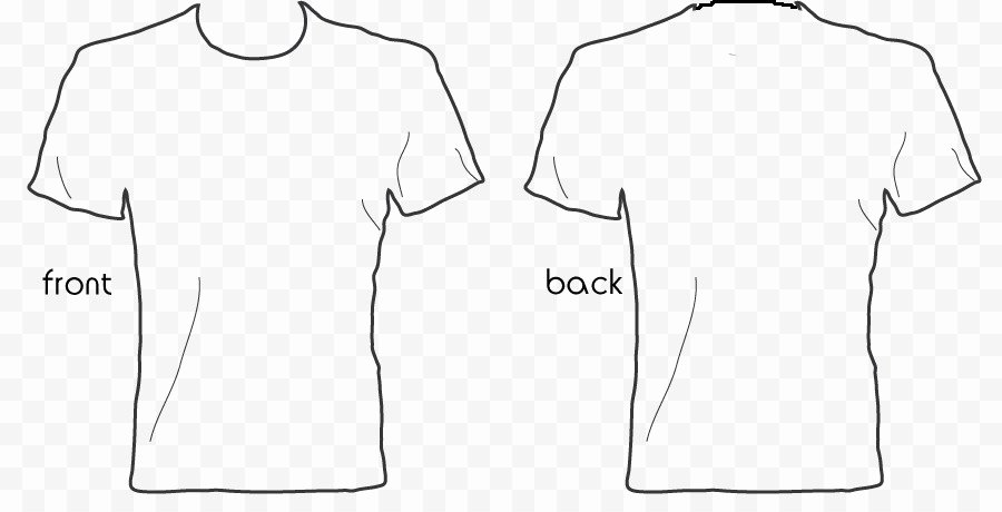 White Tshirt Template Gallery Free Templates Ideas