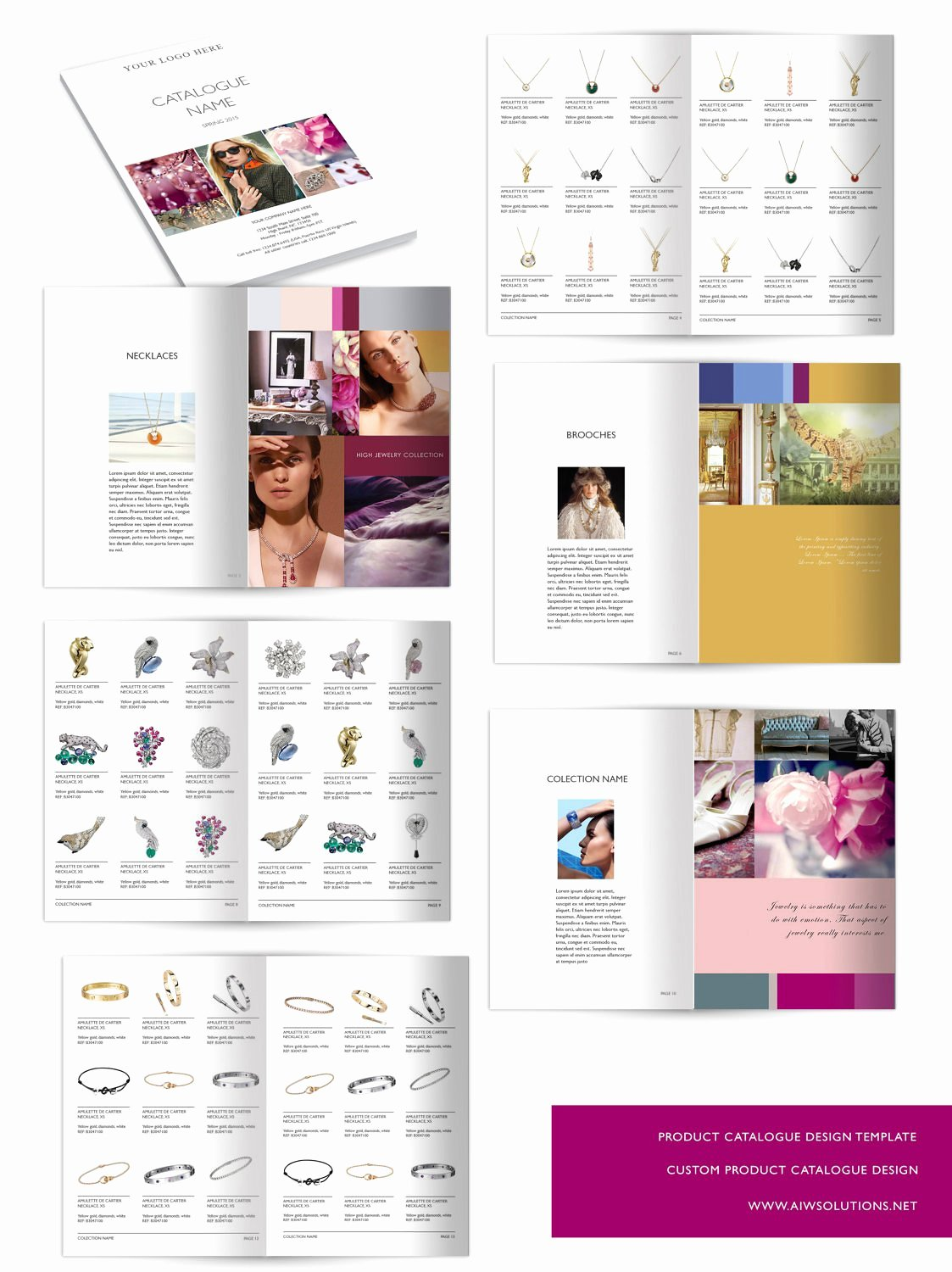 Wholesale Catalog template