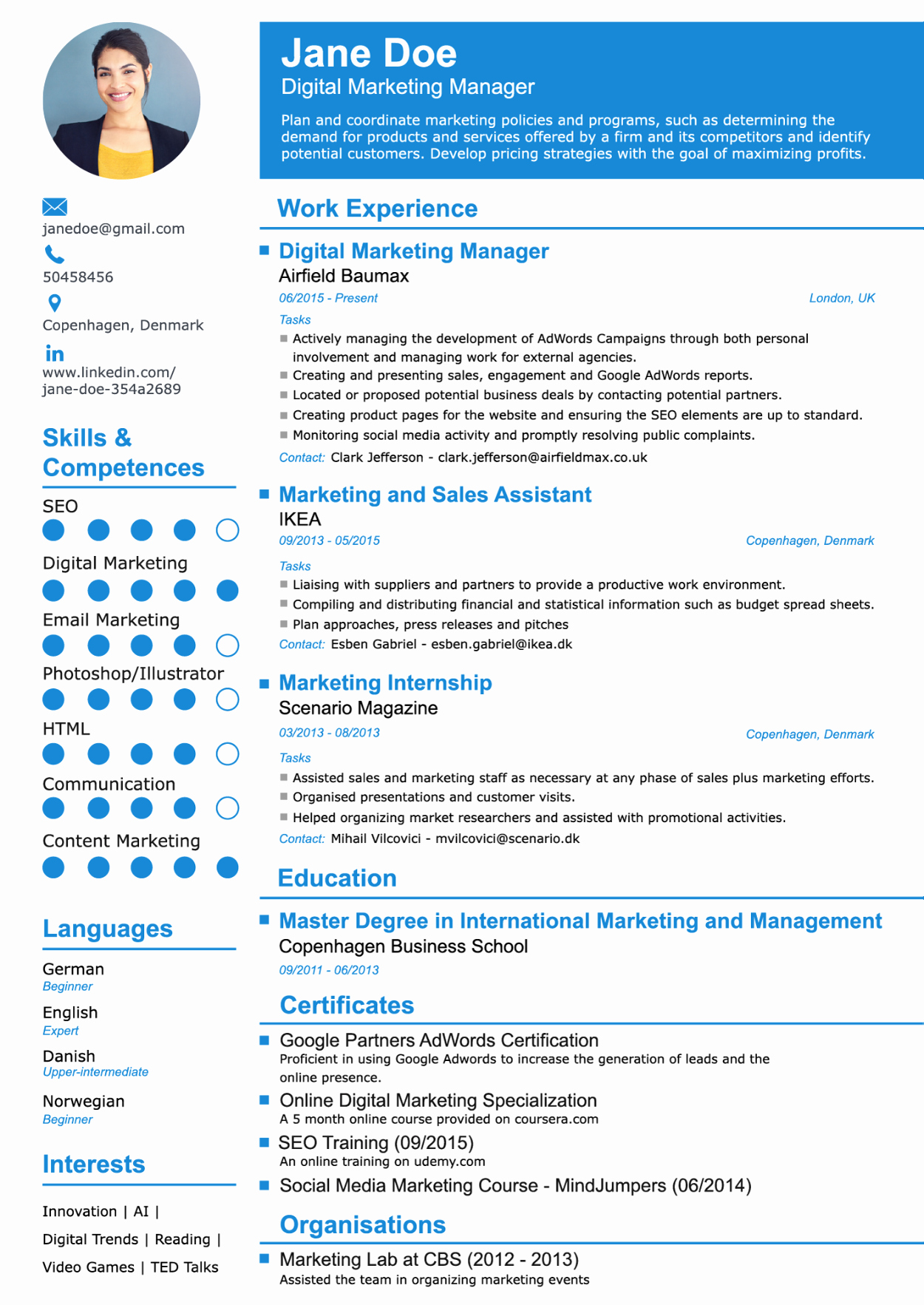 Why Should I Use A Resume Builder [advantages