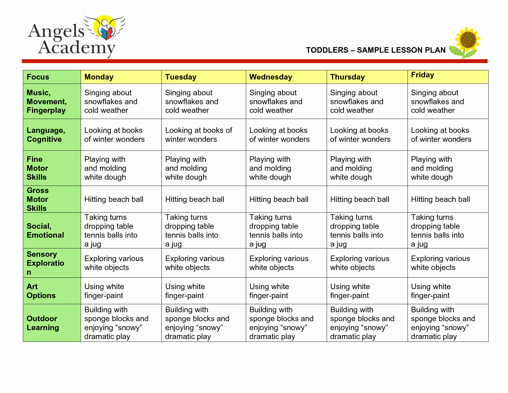 Winter Lesson Plans for Infants Yahoo Image Search
