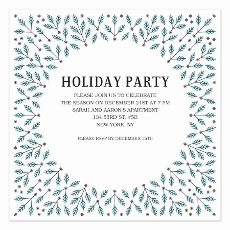 Winter Party Invitation Template – orderecigsjuicefo